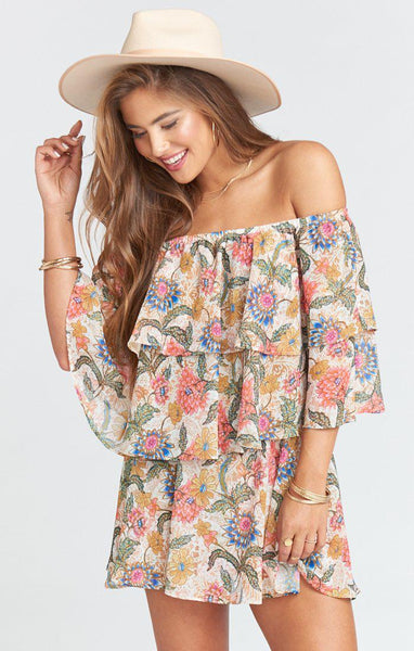 Triple Decker Romper - Bloomtastic