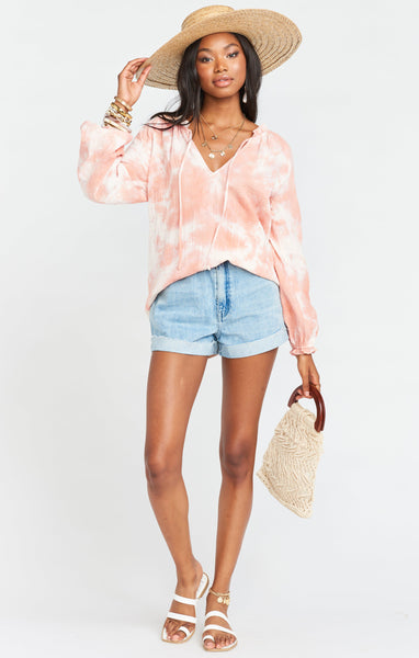 Charlene Tunic - Twisted Tie Dye