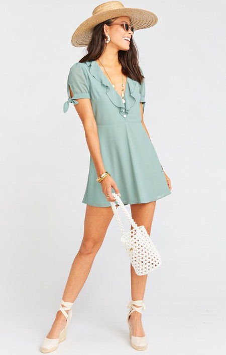 Holland Mini Dress - Daisy Lady