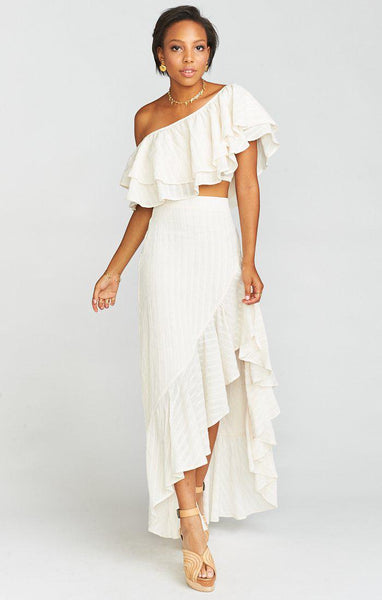 Show Me Your Mumu - Hayworth Ruffle Top  - Front