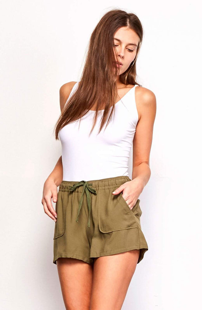 Jack by BB Dakota - Marianna Shorts - Front View