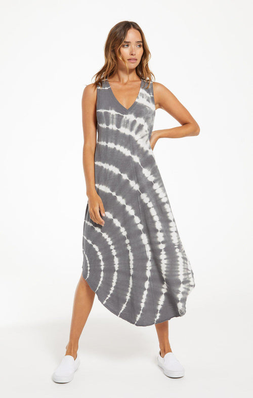 Reverie Spiral Tie-Dye Dress