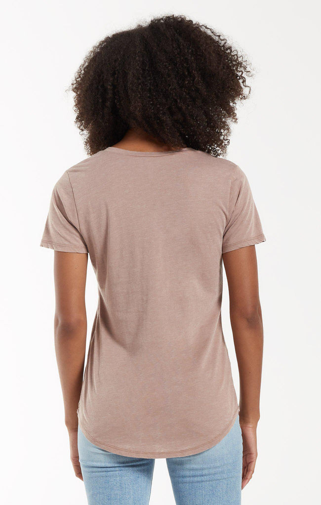 The Pocket Tee - Taupe Grey