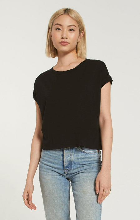 Mirabel Sleek Tank - Black