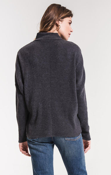 The Mock Neck Waffle Thermal