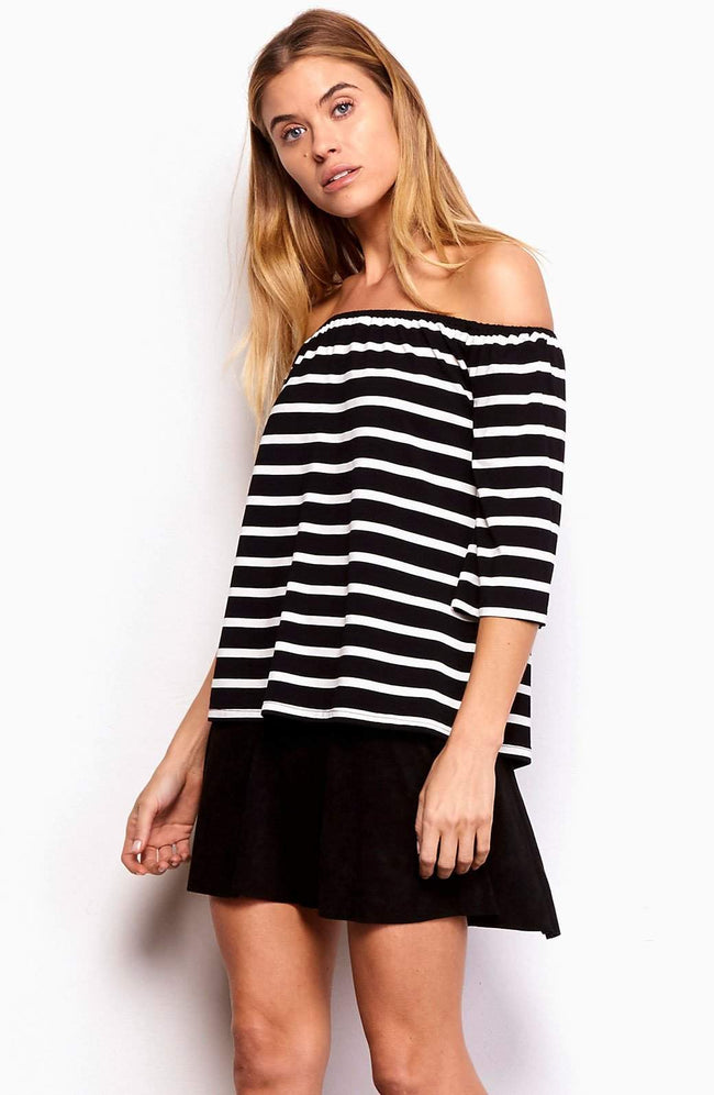 Adley Striped Top