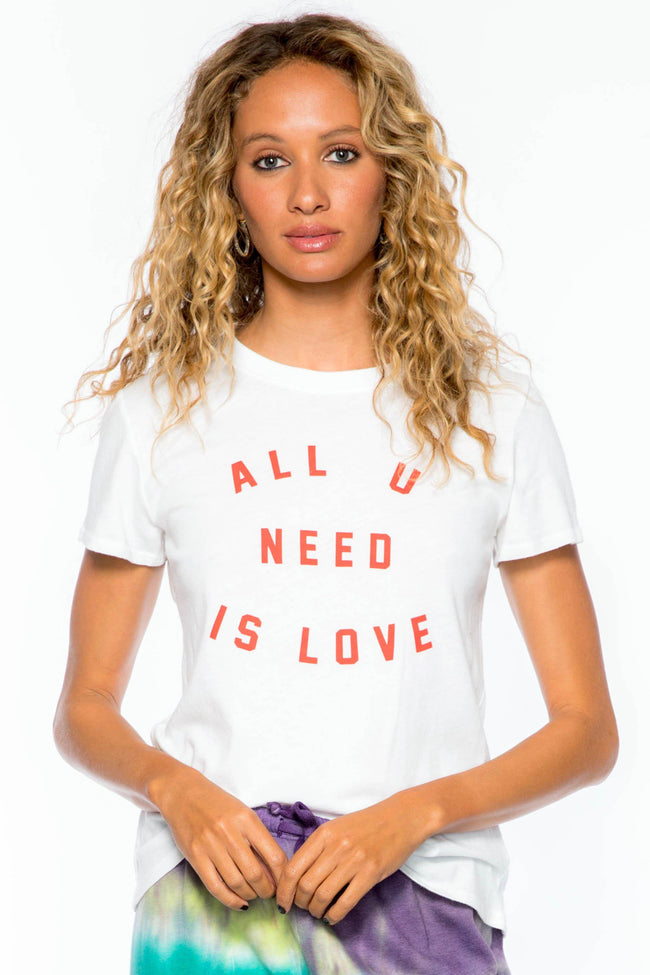 All U Need Is Love Loose Tee