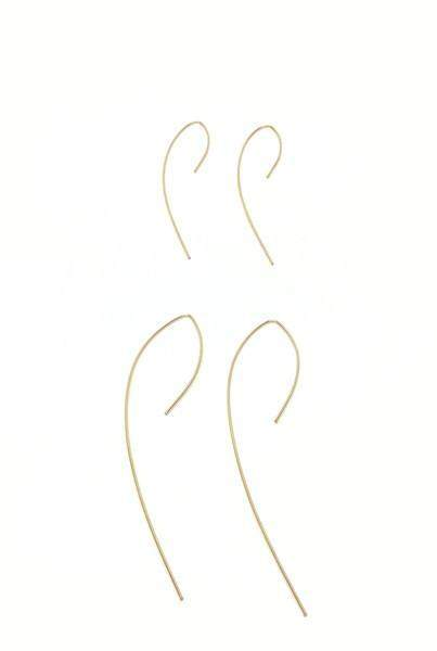 Small Arc Earrings