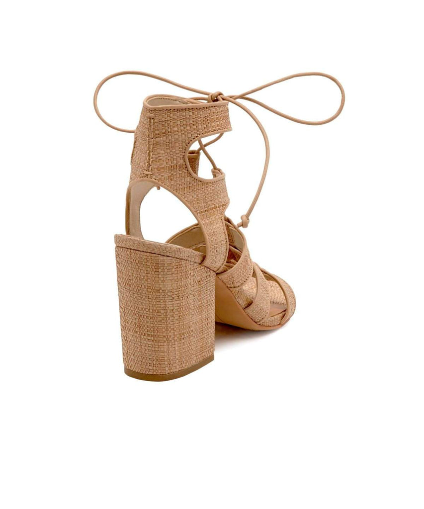 Dolce Vita Eva Natural Raffia - Back