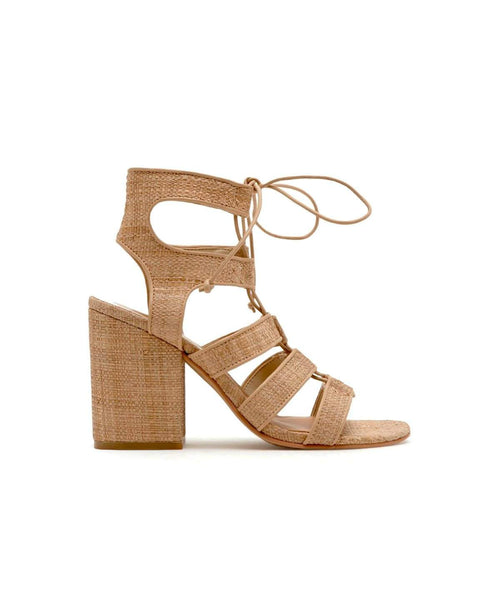 Dolce Vita Eva Natural Raffia - Side