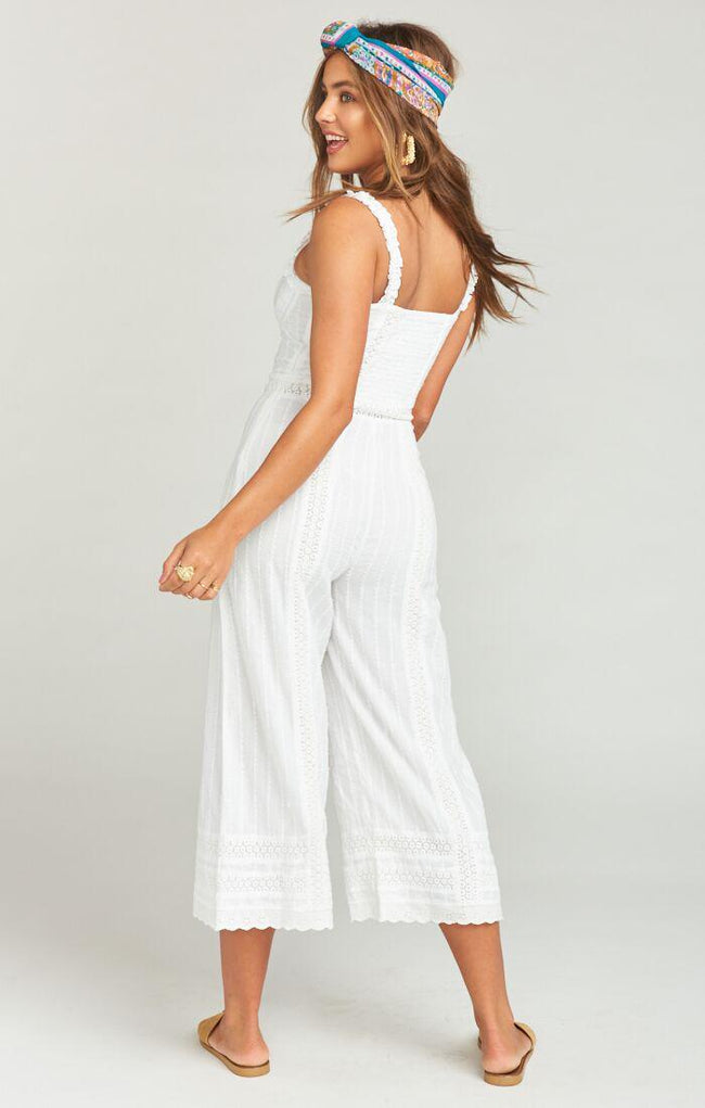 Greer Jumpsuit Verona Lace