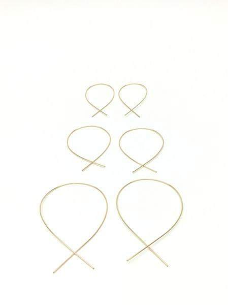Large Lasso Earrings
