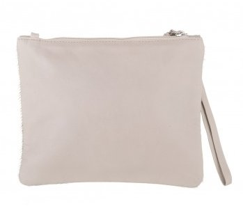 Vash Jem Gold Clutch - Back View