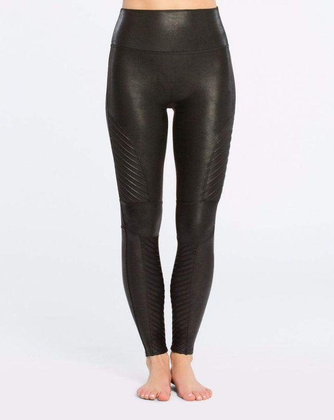 Spanx Motto Leggings - Front View