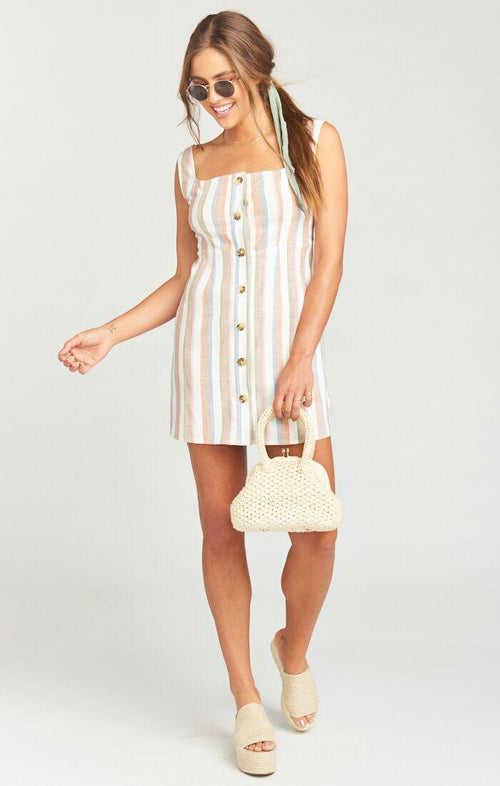 Cora Dress Shorebert Stripe