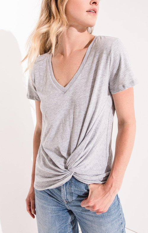 The Twist Front Tee