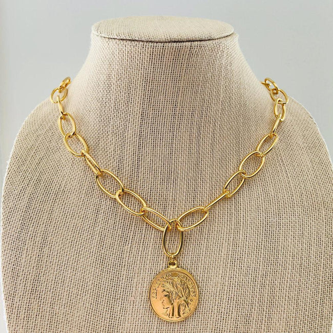 Emily Coin Necklace
