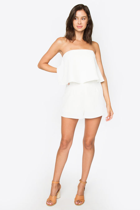 High Waisted Frayed Hem Short