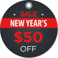 New Years Sale