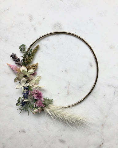 Dried Botanical Wreath - Micro no.5