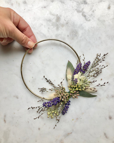Dried Botanical Wreath - Micro no.2