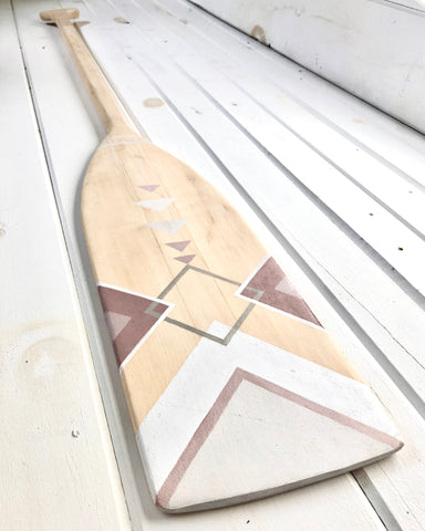 Decorative Wooden Oar