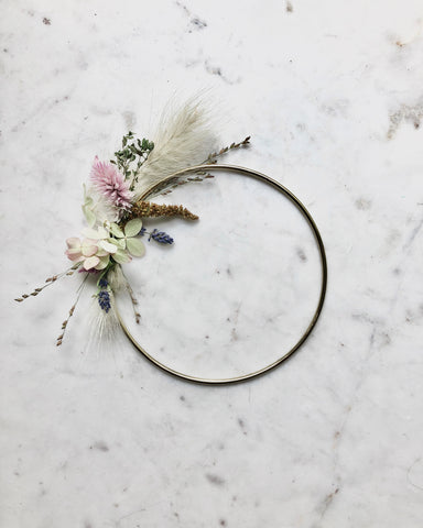 Dried Botanical Wreath - Micro no.3