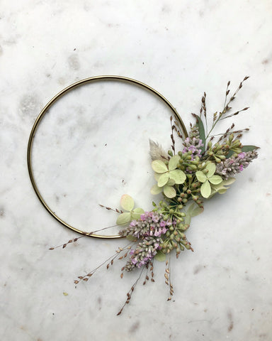 Dried Botanical Wreath - Micro no.1