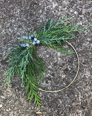 Holiday Wreath - Small no.2