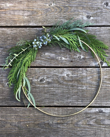 Winter Wreath - Large