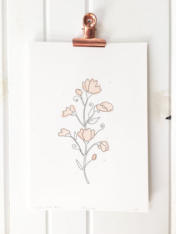 Botanical Ink - Sweet Pea