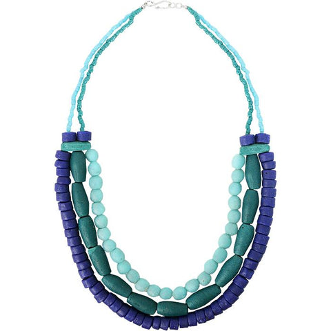 Manye Necklace Teal
