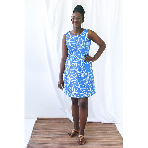 Boardwalk Dress Canopy Blue