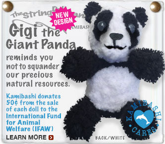 Gigi the Giant Panda Keychain