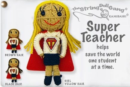 Super Teacher Keychain