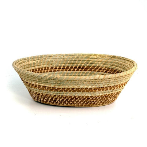 Large Manuela Pine Needle Basket