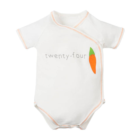 Side Snap Bodysuit 24 Carrot