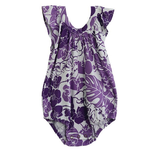 Orchid Rayon Romper