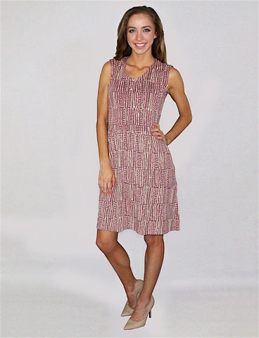 Spring Showers Jersey Dress