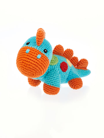 Dinosaur Rattle Stuffed Animal