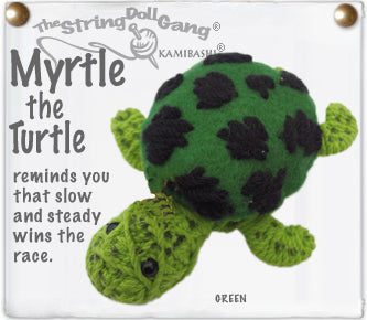 Myrtle the Turtle Keychain