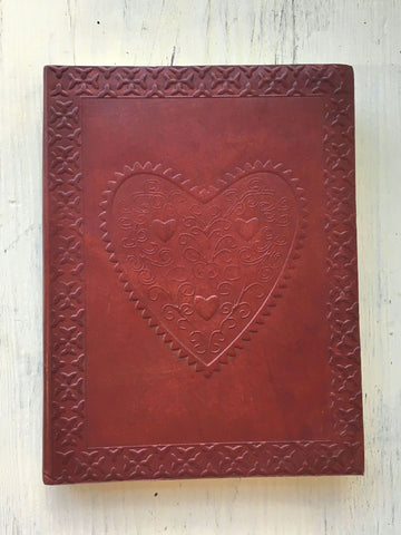 Heart Embossed Journal