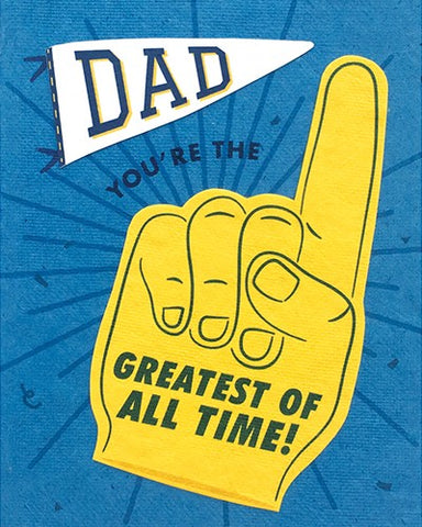 Dad GOAT Card