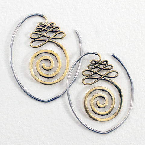 Path To Enlightment Earrings