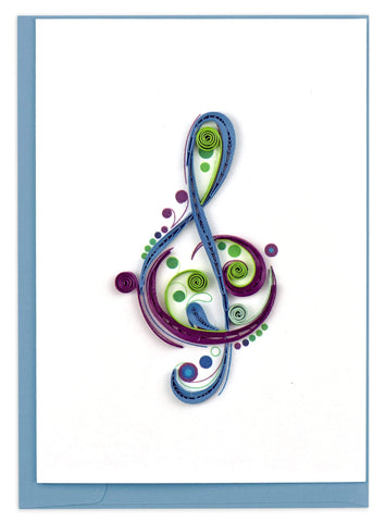 Treble Clef Gift Enclosure