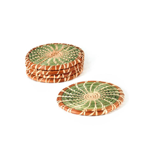 Pajón and Pine Needle Coaster Set