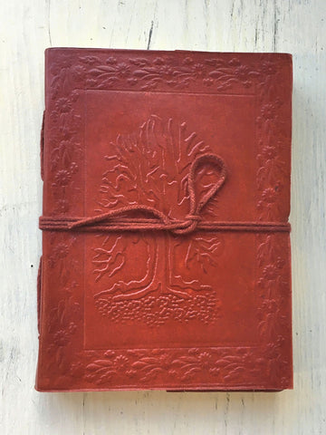 Tree of Life Embossed Journal
