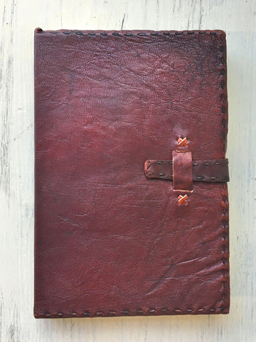Tabbed Leather Journal