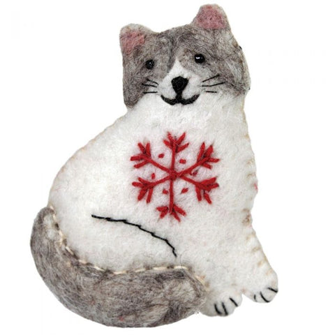 Snowflake Ragamuffin Ornament