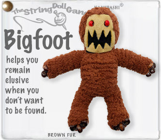 Bigfoot Keychain